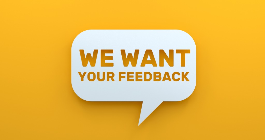 Online Reviews - We Want Your Feedback